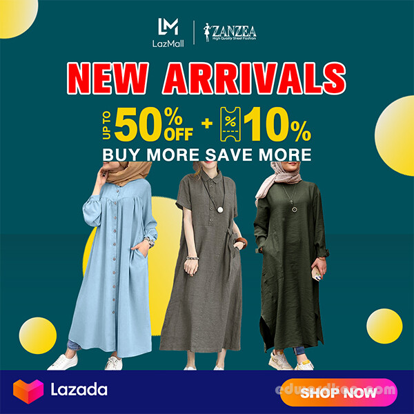 New in Lazada